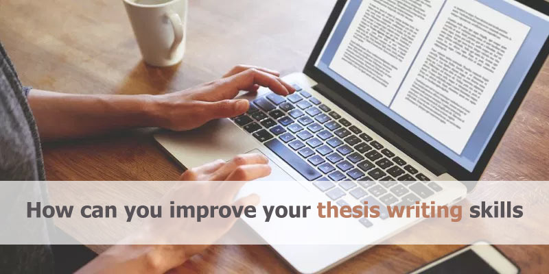 thesis writing skills