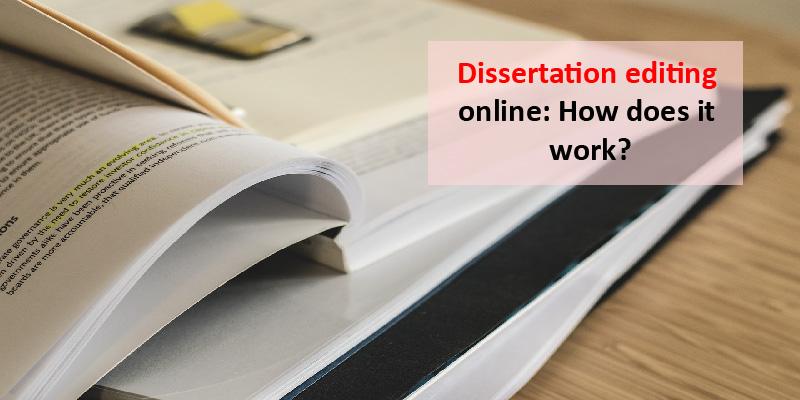 dissertation editing online