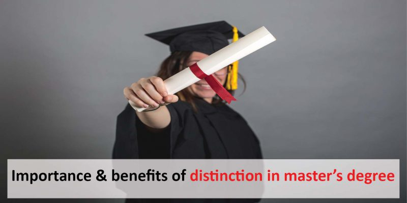 distinction in masters degree