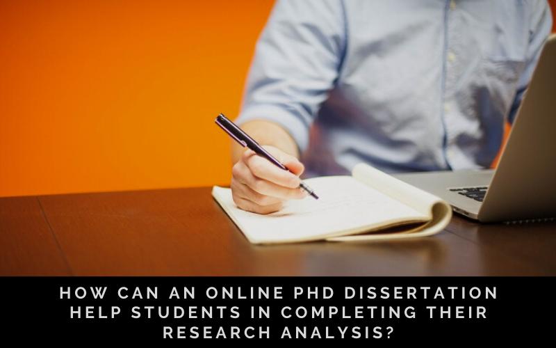 Online PhD Dissertation Help