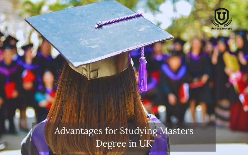 Advantages for Studying Masters Degree in UK